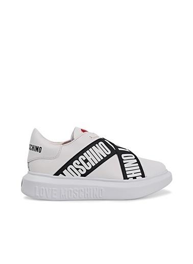 Love Moschino   Sneaker Ayakkabı Kadın Ayakkabı Ja15254G1Cıa0100 Beyaz